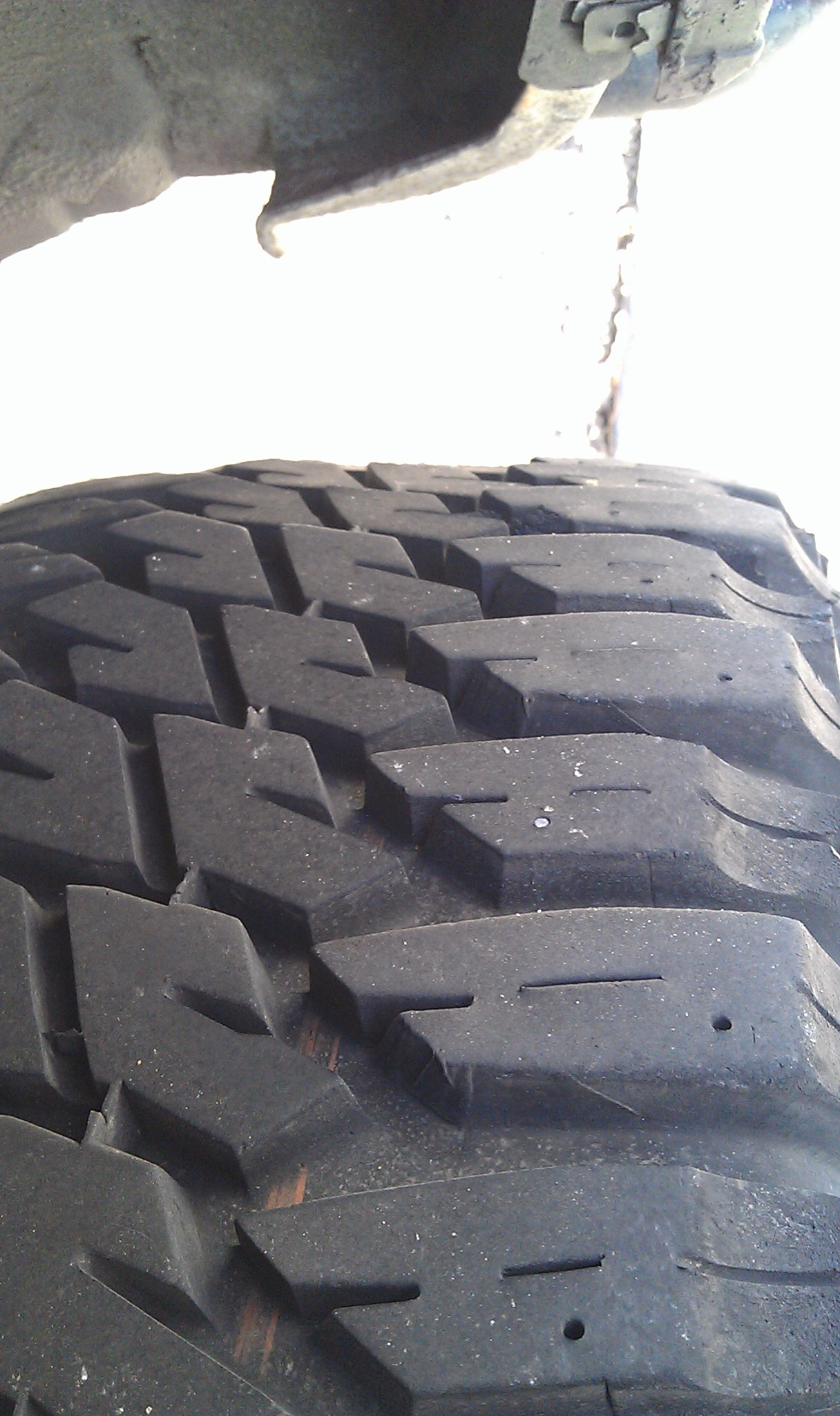 What Causes this type of tire wear? (pics inside) - YotaTech Forums